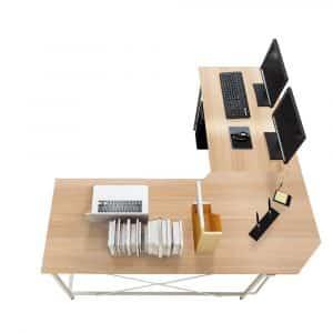 """Soges 59"""" by 59"""" L-Shaped Computer Corner Desk"""