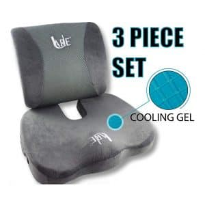 U-Are Cool Gel Memory Foam Seat Cushion
