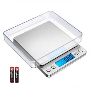 AMIR Digital Stainless Steel Auto Off 6 Units Kitchen Scale