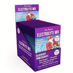 Dr. Price's Electrolyte Mix Blueberry Pomegranate Sports Drink