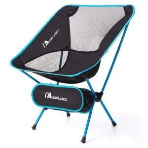 MOON LENCE Outdoor Portable Folding Chairs - 242 lbs Capacity