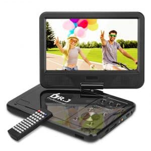 DR. J Professional Portable DVD Player