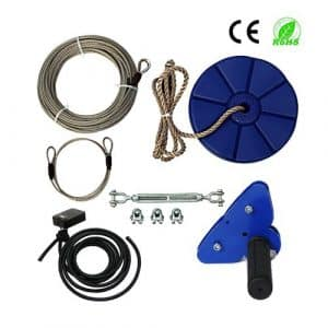 CTSC 95ft Zip Line Kit