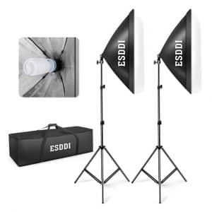 "ESDDI 20""X28"" Softbox Photography Lighting Kit"