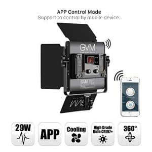 GVM 2 Pack Video Lighting Kits