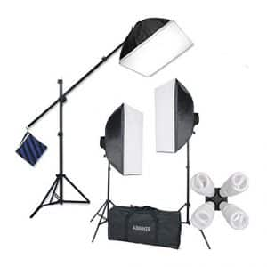 StudioFX H9004SB2 2400 Watt Softbox Photo Lighting Kit