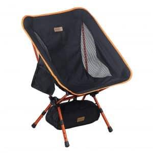 Trekology YIZI Go Camping Chair, Heavy Duty 300 lbs Chair