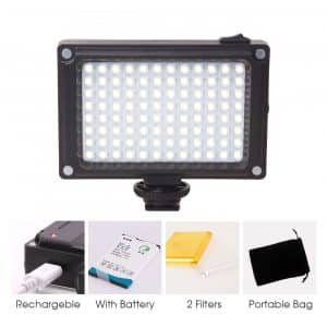 Rechargeable 96 LED Video Light