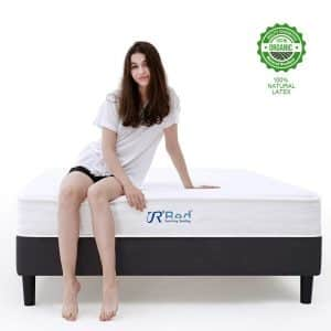 Sunrising Bedding Twin Size 8 inch Hybrid Coil Spring Mattress
