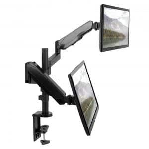 VIVO Dual STAND-V002K Monitor Mount