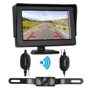 ZSMJ Wireless Backup Camera and Monitor Kit 9V-24V