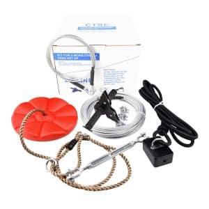 CTSC 95ft Foot Zip Line Kit
