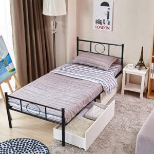 GreenForest Twin Bed Frame