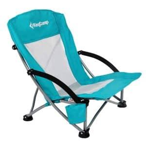 KingCamp Low Sling Camping Folding Chair - Mesh Back