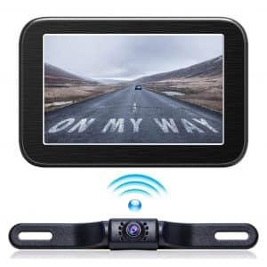 eRapta Wireless Backup Camera System with 5''LCD Wireless Monitor