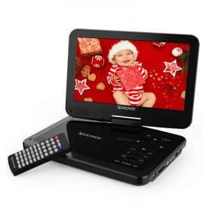 "9"" Portable DVD Player by Spacekey"