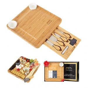 MaxMoxie Cheese Board - Best Present for Moms