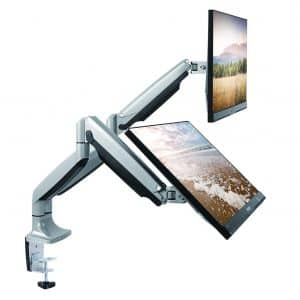 Dual Monitor Mount by TechOrbits