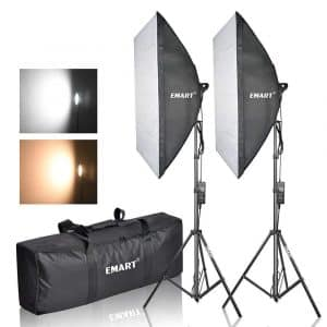 Emart Photography Softbox Lighting Kit