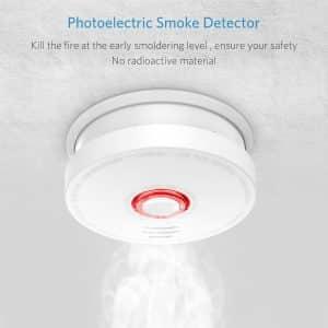 Vodool 3 Pack Photoelectric Smoke Detectors