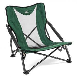 Cascade Mountain Tech Low Profile Outdoor Camping Chair