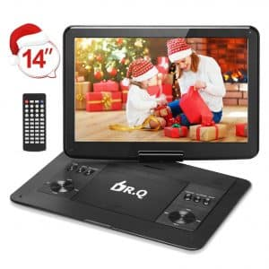 "DR.Q 14.1"" Portable DVD Player"