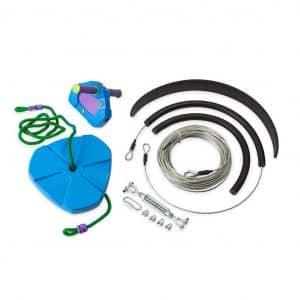 HearthSong Zip Line Kit for Kids