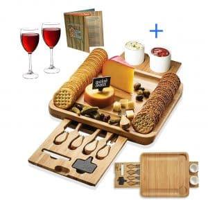 House Ur Home Bamboo Cheese Board