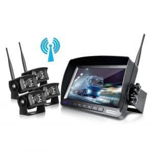 ZEROXCLUB Digital Best Wireless Backup Camera System Kit