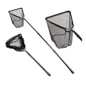 Fiblink Folding Aluminum Extending Telescoping Fishing Landing Net