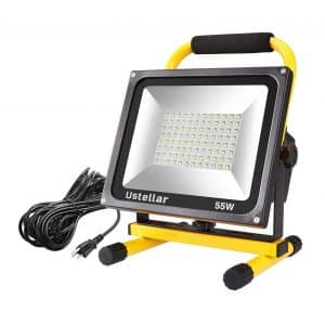 Ustellar 5500LM 55W 2 Brightness Levels LED Work Light