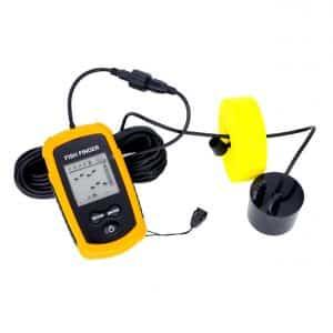 Venterior Portable Fishfinder Handheld Fish Finder with LCD Display