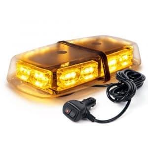 Xprite Gen 3 Amber LED Mini Bar Strobe Light