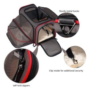 Premium Airline Approved Expandable Pet Carrier