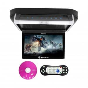 Rockville 10.1-Inches Flip Down Monitor DVD Player
