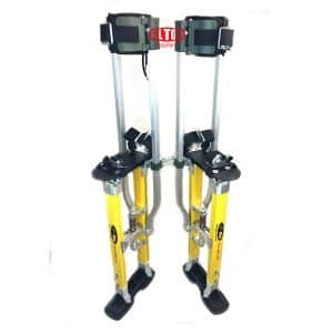SurPro S2.1 Magnesium Drywall Stilts with Dual Legs Support