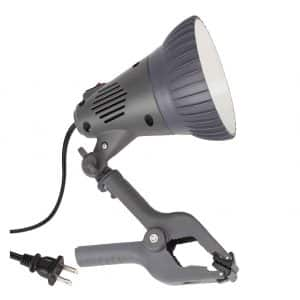 TORCHSTAR 7W LED ETL-listed Clamp Work Lamp