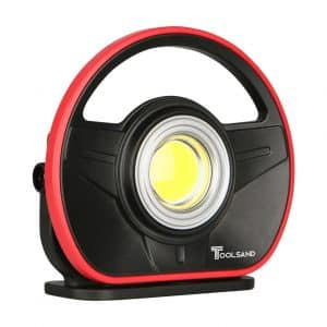 Toolsand Portable Cordless 1000 Lumens Rechargeable LED Work light