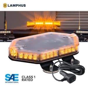 LAMPHUS NanoFlare LED Mini Light Bar - Amber