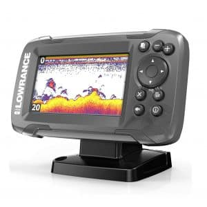 Lowrance HOOK2 4X with Chirp Sonar 4-inch Fish Finder