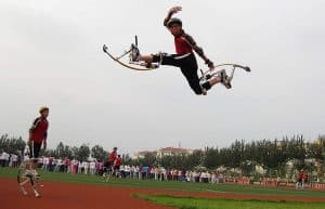 jumping stilts