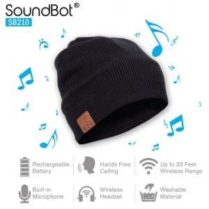 SoundBot SB210 Smart Beanie Hat Headphone