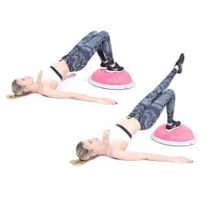 BELEBOOM Balance Workout Trainer Ball Yoga Half Ball Balance