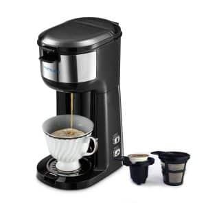 HAMSWAN Single Cup Coffee Maker