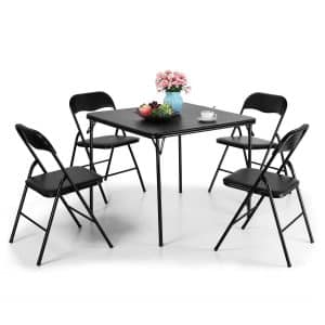 Tobbi Folding Chair and Table Set