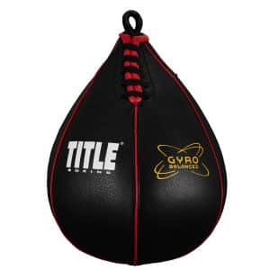 Gyro-Balanced Speed Bags from Title Boxing
