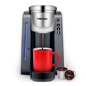 Mueller Ultima Single Cup Coffee Maker, 45 OZ Capacity