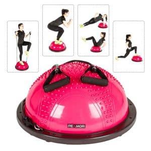 PEXMOR Yoga Trainer Exercise Half Ball Balance for Core Training