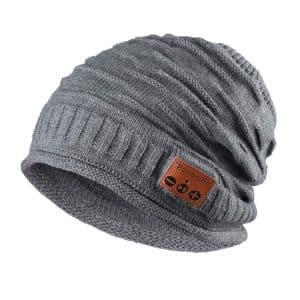 Pococina Upgraded Beanie Music Hat Headphone