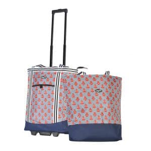 Olympia 2-Piece Rolling Shopper